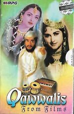 QAWWALIS FROM FILMS - NEW BOLLYWOOD AUDIO CASSETTE - SET OF 2 X CASSETTES
