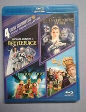 Family Fantasy Collection: 4 Film Favorites (Blu-ray Disc, 2014, 4-Disc Set)