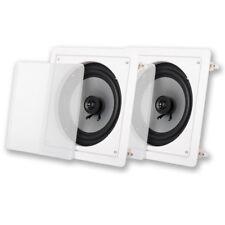 "Acoustic Audio CSi82S In Wall / Ceiling 8"" Speaker Pair Home Theater Speakers"