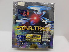 Star Trek Master Series Trading Cards Sealed Box Skybox 1993 ~