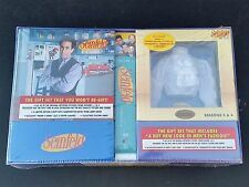 rare Seinfeld 1 2 3 4 5 6 Season 1-6 Puffy Shirt & Monks Diner boxed sets sealeD