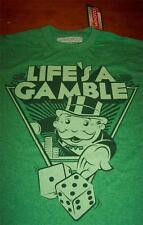 MONOPOLY Life's A Gamble T-Shirt 2XL XXL NEW w/ tag
