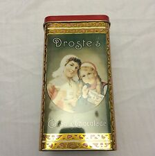 VINTAGE DROSTE`S COCOA METAL TIN  CAN STORAGE CLEAN EMPTY COLLECTORS TIN