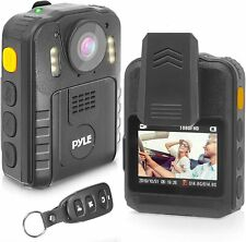 Pyle Ppbcm92 Compact & Portable Hd Body Police Camera Night Vision 16Gb