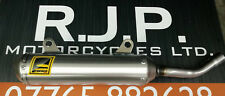 Honda CR250 1988 1989 Fresco Works Finish Exhaust silencer End Can Tail pipe