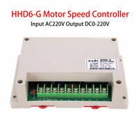 AC 220V Input DC 0-220V Output Speed Controller Motor -10~+65℃ 1200W HHD6-G