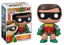 FUNKO BOBBLE HEAD POP CULTURE 1966 TV SERIE BATMAN ROBIN FIGURE NEW!