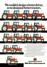 THE INTERNATIONAL STABLE COLLECTION TRACTOR SALES BROCHURE/POSTER 80's ADVERT A3