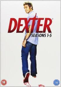 Dexter - Seasons 1-5 Complete [DVD], Good DVD, Desmond Harrington, Jennifer Carp