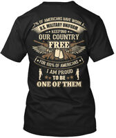 Premium Veteran - 7%of Americans Have Worn A U S Hanes Tagless Tee T-Shirt