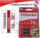 TARJETA MICRO SDHC UHS-I TOSHIBA 16GB CLASE 10 90MBS CON ADAPTADOR M302 EXCERIA