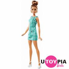 Barbie® Fashionistas® Doll no. 50 - Emerald Check - Original  [FBR37/DVX72]
