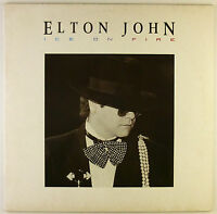 """12"""" LP - Elton John - Ice On Fire - B2685 - washed & cleaned"""