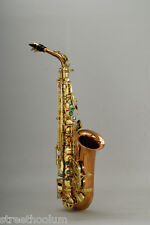 Chateau Alto Saxophone Professional Handmade VCH-A920LZ Lacquer Finished Body