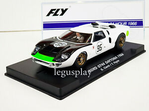 Slot Car Scalextric Fly A2013 Ford GT40 95 Daytona 69.3ozClarck / T. Payne