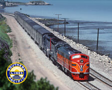 Southern Pacific Special Metal Photo Sign