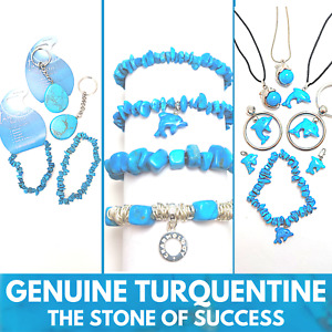 TURQUENTINE GEMSTONE Wholesale Pack of Jewellery Bracelets Pendants or Charms
