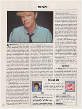 Original 1983 Playboy Article- Interview with David Bowie