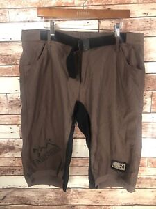 Specialized Bike Men's Brown Cycling Athletic Shorts Size Large