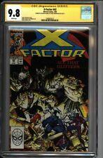 * X-FACTOR #42 CGC 9.8 Signed Art Adams Louise Simonson (1580625017) *