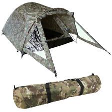 Camo Elite 2 Man Tent / Carp Fishing Bivvy Double Skin / Pegs Groundsheet