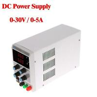 30V 5A Variable Adjustable Digital DC Power Supply Regulated Lab EU Plug I8K3