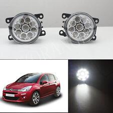6000K CCC Fog Lamps LED Light For Peugeot 207 307 407 607 3008 1 SET Van 2000-13