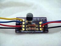 Atari 2600/7800 Composite Video Mod Upgrade Kit - DIY - Assembled