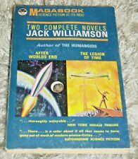 """1963 """"Magabook"""" Pulp size paperback with 2 Jack Williamson Novels"""