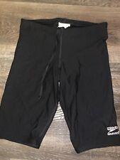 Speedo Endurance ~ Men's Swim Jammer Swim Suit Dive Shorts Black ~ 28