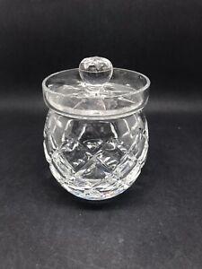 Cut Glass Conserve / Jam Pot (Or305)