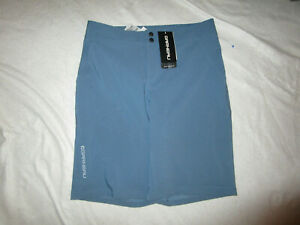 LOUIS GARNEAU MEN'S MTB CYCLING SHORTS BLUE MEDIUM NEW NWT POLYESTER