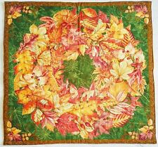 Quilted Handmade Beautiful Wall Hanging Table Topper Art Decor Quilt 23 x 23