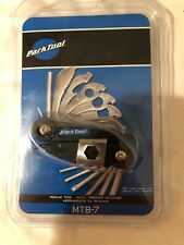 Park Tool MTB-7 Rescue Tool Bicycle Multi-Tool with Case 22-Function Road / MTB