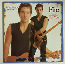 "Bruce Springsteen Fire Maxisingle 12"" Spain 1987"