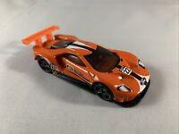Hot Wheels - '16 Ford GT Race (2018 Orange) - MINT LOOSE - Diecast 1:64 Scale