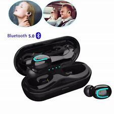 Q18 IPX7 Waterproof Mini True Bluetooth 5.0 Earbuds Wireless Headsets Headphones