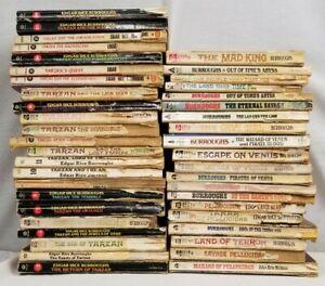 43 Edgar Rice Burroughs Sci-Fi Novels, Tarzan, Pellucidar, Caspak, Venus Series