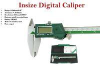 "Insize digital caliper 0 - 200mm / 0-8"" stainless steel calliper Code: 1108-200"