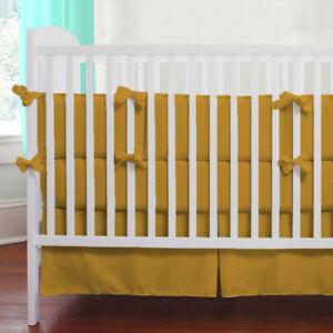 5pc Unisex Baby Bedding Set Fitted Skirt Comforter Pillowcase Bumper