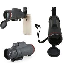 Clip-on 35 X 50 Optical Zoom HD Telescope Camera Lens For Universal Mobile Phone