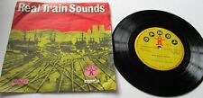 CHILDRENS RECORD   REAL TRAIN SOUNDS DANDY RECORD LABEL 1960's