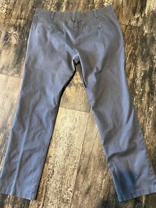 Under Armour Flat Front Golf Pants - Gray - 40x34