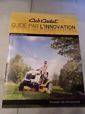 Original 2013 CUB CADET Full Line Dealers Sales French Brochure #CC-13