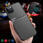 Hybrid Magnetic Leather Case For iPhone 13 12 Pro Max 11 XS XR 8 7 X Heavy Duty