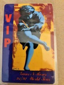 Guns N Roses VIP Tour Laminent 91/92 Tour
