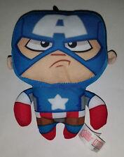 "Captain America Avengers Assemble Marvel Small Plush 6"" Stuffed Animal Toy"