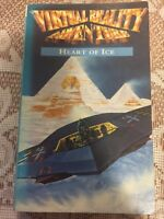 Virtual Reality Adventure Heart Of Ice By Dave Morris 1994 1st Edition