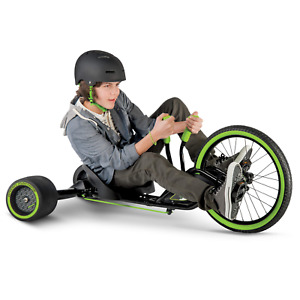 Huffy Green Machine RT 20-Inch 3-Wheel Tricycle in Green and Black