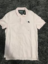 NWT Express Men's Pink Stretch Pique Polo Shirt Size Small!!